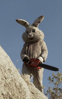 """The Scary, Weird, Somewhat True Story of the Fairfax """"Bunny Man"""" to wallpaper corners Creepy Pictures, Funny Pictures, Stupid Memes, Funny Memes, Images Terrifiantes, Bunny Man, Arte Obscura, Retro Humor, Cursed Images"""