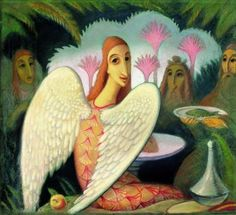 Jan Zrzavý (1890-1977) . Jaba, Roman Catholic, Disney Characters, Fictional Characters, Pastel, Drawings, Illustration, Artist, Painting