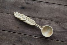 Hand Carved Spoon by Giles Newman, wood carving