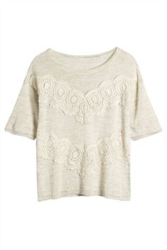 Lace Linen Sweater from the Next UK online shop