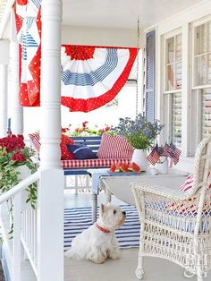 July 4th porch