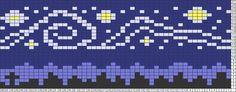 Starry Night Knitting Chart                                                                                                                                                                                 More