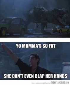 I don't usually like the dinosaur jokes but this made me laugh