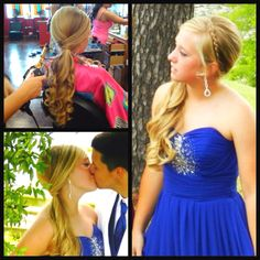 Prom hair :) I don't think my hair is long enough..