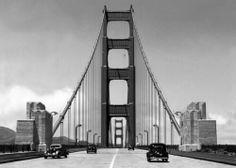 Golden Gate Bridge in San Francisco, c. 1940