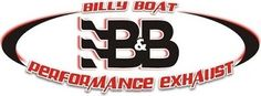 Billy Boat FCOR-0045 Exhaust & Fusion Muffler w/4.5 Rolled Oval Tips & Vacuum