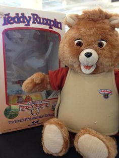 Teddy Ruxpin was my red rider daisy air rifle. Teddy Ruxpin, Teddy Bear, Vintage Movies, Vintage Toys, Retro Toys, Childhood Toys, Childhood Memories, Back In My Day, Creative Labs