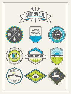 Andrew Bird Poster by Stewart Scott-Curran