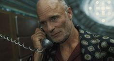 Ed Harris for the villain.