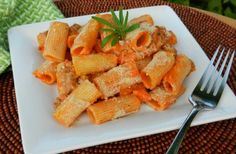 Baked Rigatoni Quick and easy dinner meal