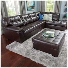 Simmons®+Manhattan+2-Piece+Sectional+at+Big+Lots.