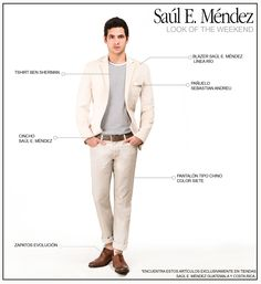 Saúl Look of the Weekend: Idea No.5