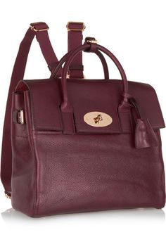 750fbf0822 Mulberry - + Cara Delevingne medium leather backpack
