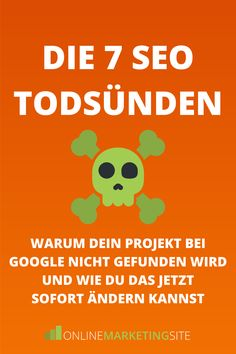 Warum dein Projekt bei Google nicht gefunden wird und wie du das jetzt sofort ändern kannst! Digital Board, Data Analytics, Online Marketing, Ecommerce, Infographic, Social Media, Google, Search Engine Optimization, Blogging