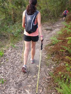 Call them hiking poles, trekking poles or even Nordic Walking poles, they still do essentially the same job. Hiking Training, Hiking Gear, Cross Training, Walking Poles, Nordic Walking, Walking Exercise, Rando, Book Of Life, Physical Activities