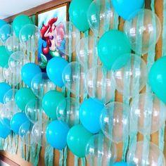 Que tal uma decoração deslumbrante com o tema Pequena Sereia, com balões da Balão Cultura. Créditos: Balões: Balão Cultura www.balaocultura.com.br Decoração e Planejamento: Festa com Amor #decoracaodebaloes #arieldecor #Ariel #PequenaSereia #decoraçãoPequenaSereia #balaocultura #balãoCultura #iloveballoon #cortinadebaloes #paineldebaloes