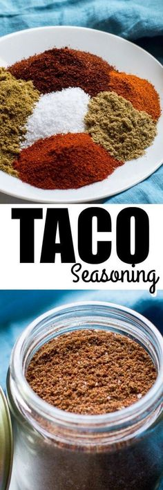 Homemade Taco Seasoning Using common spices, whip up this Homemade Taco Seasoning recipe in a flash! It's cheaper and tastier than the stale store-bought packets, too. Homemade Taco Seasoning U Homemade Spices, Homemade Taco Seasoning, Seasoning Recipe, Seasoning Mixes, Seafood Seasoning, Common Spices, Comida Latina, Tasty, Yummy Food