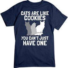 [Basic Tee] - Cats Are Like Cookies