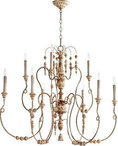 Quorum Lighting Salento Traditional Chandelier X-49-9-6026 traditional-chandeliers