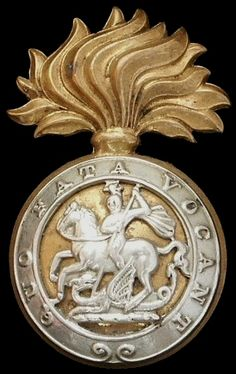 Royal Northumberland Fusiliers Cap Badge post 1935