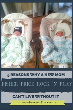 Any new mom can't live without the Fisher Price Rock 'n Play.  If you need convincing, this post will give you 5 convincing reasons why the Rock 'n Play is the ONLY sleeper product you need for new babies