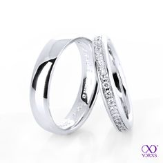 Beautiful wedding rings for your dream wedding on www.yorxs.de #yorxs #diamantringe #eheringe