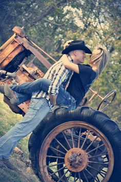 only with John Deere in the background countryengagementpictures Country Engagement Pictures, Engagement Couple, Engagement Photos, Engagement Ideas, Couple Photography, Engagement Photography, Photography Poses, Wedding Photography, Cenas Do Interior