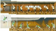 This is pretty cool, being an actual volleyball player, Kageyama's is a lot more realistic than Oikawa's