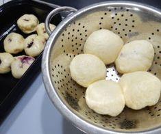 Ovocné knedlíky zkynutého těsta Potatoes, Baking, Vegetables, Food, Meal, Patisserie, Potato, Backen, Eten