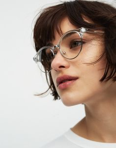 Transparent glasses - New - Woman - PULL&BEAR Netherlands