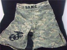 e6636ebe79 USMC MARINES ** COMBATANT MMA PT CAMO BOARD SHORTS ** ** FREE DECAL **