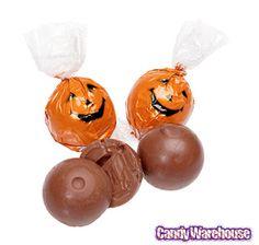 Lindt Orange Pumpkin Face Lindor Chocolate Truffles... #love