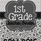 First grade Common Core Standards Binder!! Tons of forms and dividers to make your year easier and stylish!