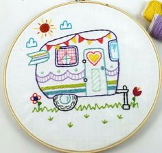 ♥♥♥ -   I don't enjoy embroidery much, but I just love this!