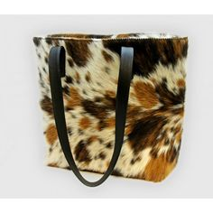 Spotted Vaquero Leather Handbag