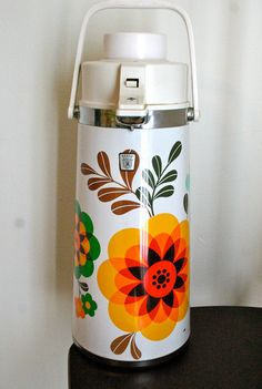thermos flask pump dispenser coffee thermos