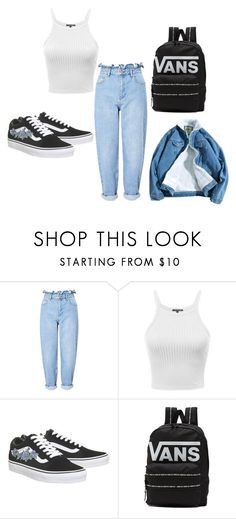 """Untitled #52"" by sharon-s-molnar on Polyvore featuring Miss Selfridge and Vans"