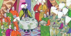 ottoman table setting