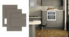 handleless matt kitchen - Google Search
