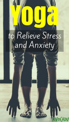 Yoga for Stress and Anxiety | Yoga Workout for Stress | Yoga for Beginners | http://avocadu.com/12-minute-yoga-workout-calm-stress-anxiety/