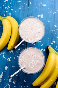 This is when I start to get creative with those afternoon smoothies, and my Coconut Banana Dream Smoothie is just the thing to help curb your appetite, promote beauty and a...