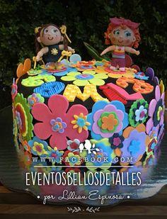 Pastel decorado con fondant tema: distroller con tinga y chamoy ☺️ distroller cake.  https://www.facebook.com/eventosbellosdetalles