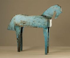 Blue Horse, Joe Brubaker at Donna Seager Gallery