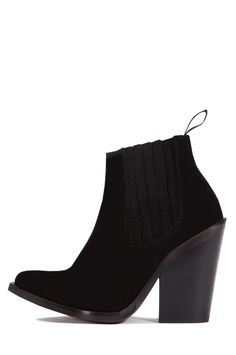 Jeffrey Campbell Shoes 2883-KI New Arrivals in Black Distressed Suede