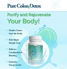 How Does Pure Colon Detox Work? Pure Colon Detox is the best cleanse for weight loss that works to rid your body of toxins and rejuvenates your digestive system. By taking Pure Colon Detox on a daily basis, the gentle formula cleanses the colon of built-up wastes that lead to uncomfortable constipation and bloating. Discover a leaner you!