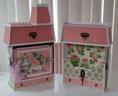Dollhouse with Mini Album Tutorial is now available