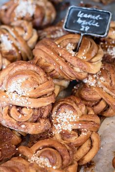 10 Food & Shopping hotspots you need to know in Stockholm - Fabrique Bakery Cinnamon Bun