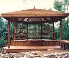 Mahagoni Holz Terrassendielen Farbe Rot Braun Eigenschaften ... Beispiel Mehrstufige Holzterrasse