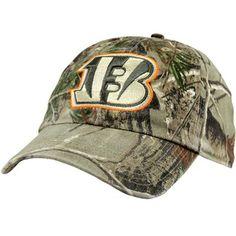 '47 Brand Cincinnati Bengals Clean Up Adjustable Hat - Realtree Camo