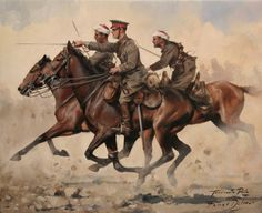 La Pintura y la Guerra. Sursumkorda in memoriam Military Art, Military History, Call Of Cthulhu Rpg, Horses And Dogs, War Horses, British Army Uniform, War Photography, Drawing Projects, Great Paintings